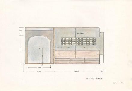 高台寺の家:計画案