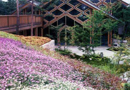 梅小路公園:庭園と池