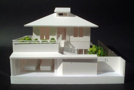 上賀茂の家:スタディ模型