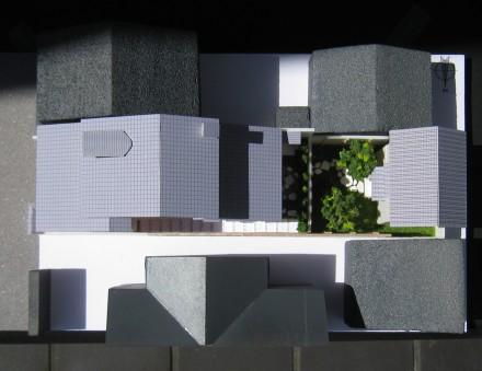 柳馬場通の茶室:スタディ模型